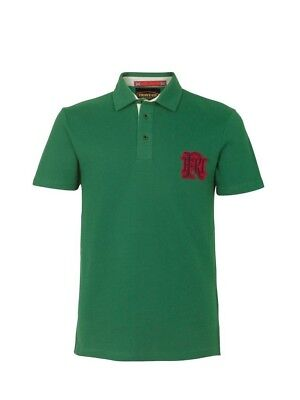 (2X-Large, Z82 Light Green) - Front Up Rugby Men's Short Sleeve Polo T-Shirt