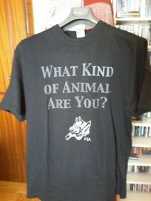 ZOS/KIA COIL T-SHIRT L (what kind of animal are you)