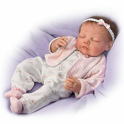 Ashton Drake - Dream Big, Little One Touch Activated Baby Doll by Jannie Delange
