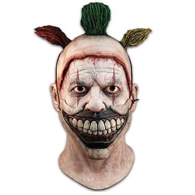 NEW American Horror Story Twisty The Clown Mask & Removable Mouthpiece Costume
