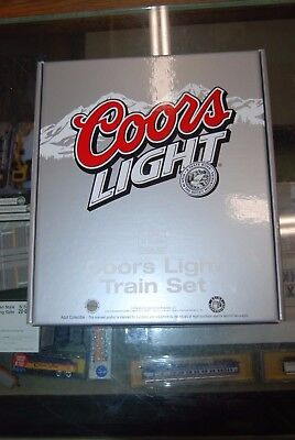 "Lot 10-5 N Scale ""The N Scale Collector"" Coors Light Train Set"