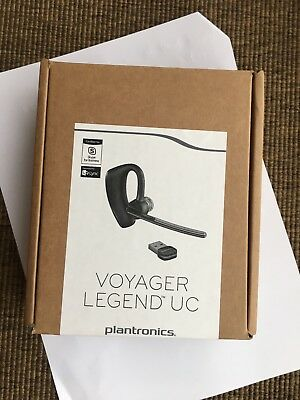 Brand New In The Box- Plantronics Voyager Legend UC B235-M Bluetooth Headset