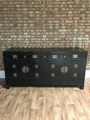Beautiful Antique Chinese Sideboard with 4 Drawers and 2 Cupboards