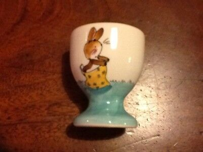 Whittards Of Chelsea Hand Painted Rabbit Eggcup Rare