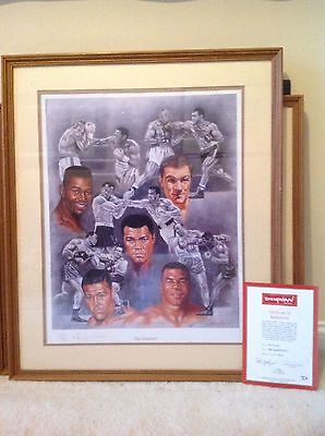 Limited Boxing Art by Peter Deighan