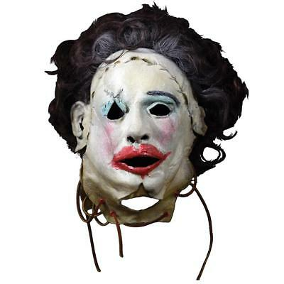 NEW Texas Chainsaw Massacre Leatherface 1974 Pretty Woman Mask Costume Accessory