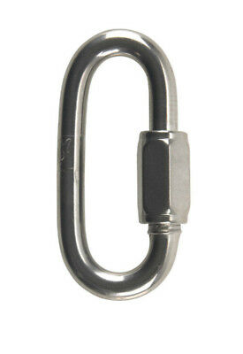 """Campbell T7630546 Stainless Steel Tagged Quick Link, 5/16"""""""