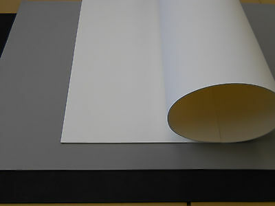 "2 pcs 5mm x 26""x 39"" Large EVA Foam Sheet: Black,white,grey."