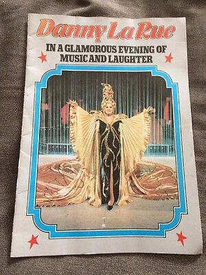 Danny La Rue Vintage Show Program Glamorous Evening Of Music And Laughter