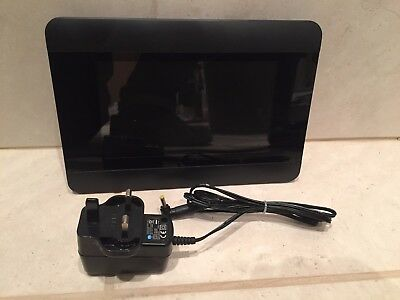 """7"""" Digital Picture Photo Frame - Sleek Acrylic Design - With Power Supply"""