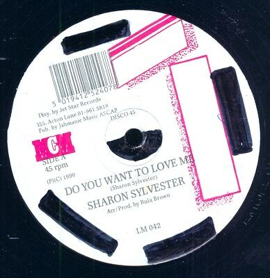 """SHARON SYLVESTER-Do You Want To Love Me/RULA BROWN-Memories Of You - 12"""" - 1990"""