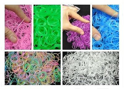 600Pcs Rubber Band Pet Hair Dog Grooming Bow Rubber Band 6 Color for Choice