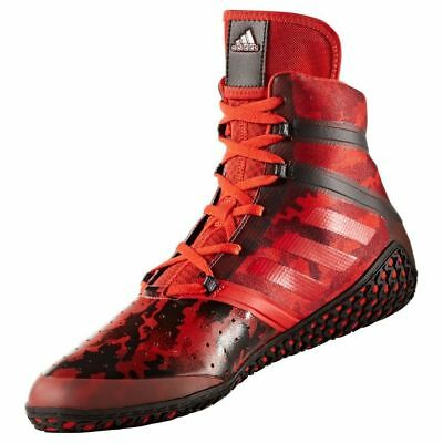 Adidas Flying impact Wrestling Shoes Red & Black Boots Trainers Pumps