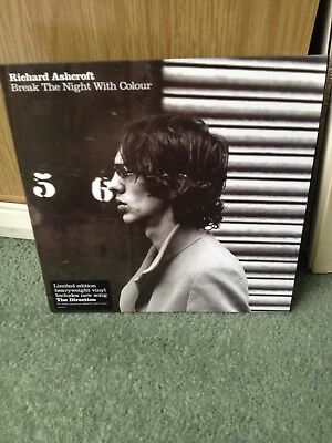 "Richard Ashcroft Break The Night With Colour 7"" Vinyl Mint"