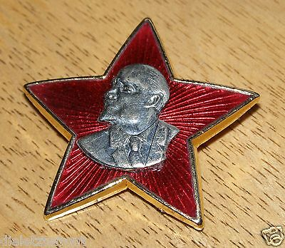 "SOVIET RUSSIAN USSR ""Lenin"" COMMEMORATIVE BADGE SUBSTANTIAL QUALITY UNISSUED"