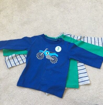 3 pack baby boy tops, NEXT, 9-12 months, BNWT