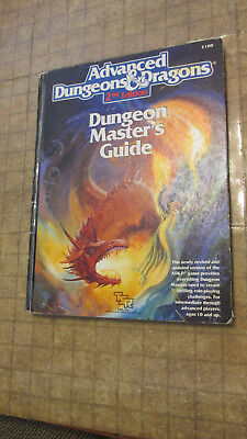 Advanced Dungeons and Dragons 2nd ed Dungeon Master's Guide 2100 free shipping