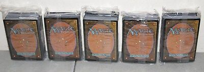 "New!! 5- MAGIC THE GATHERING Cards ""DECKMASTER"" Lot (80 Cards Deck, 400 Total)"