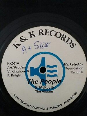 """The People""  Noel Mckoy And The Albians  Very Rare Shaka 12"" Roots LISTEN!!!"