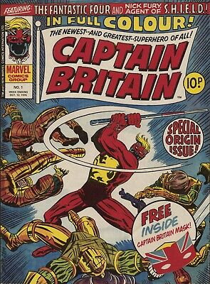 Captain Britain - The Complete Dvd Rom Collection