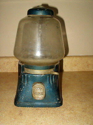 <Vintage> One Cent 'Try Some' Gum Candy Nut Gumball Vending Machine (1 Cent)