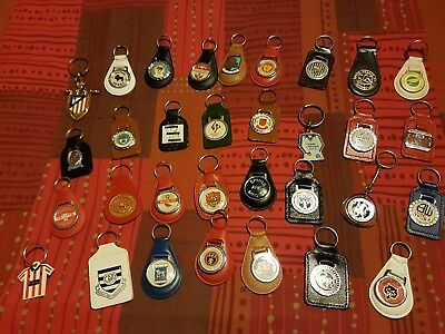 32 x asstd football club key rings