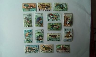 Grenadines of St Vincent - Birds Definitives - SPECIMEN