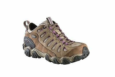Oboz Sawtooth BDry Hiking Shoes, Womens, Brown/Violet, 7