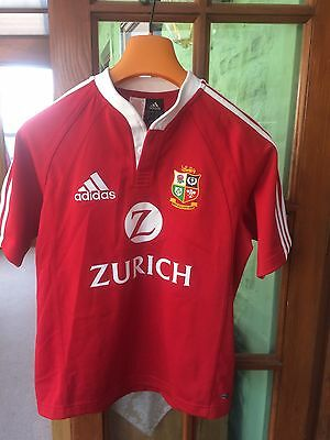 "British Lions 2005: rugby shirt  New Zealand, adidas-32/34"", Climacool, Ex Cond"