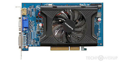 Gigabyte HD 4650 1GB AGP 8x Video Card
