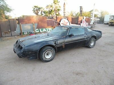 1979 Pontiac Firebird Trans Am Smokey & The Bandit L78 400 4spd Y84/WS6 1979 Trans Am Smokey And The Bandit Z Code L78 400 4spd Y84/WS6 T-Top