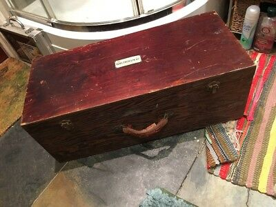 Vintage Retro Electrolux Wooden Box For Vacuum Cleaner Circa 1930s Collect SW19