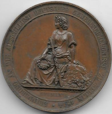 1844 German Medal for the Berlin Industrial Exposition, Engraved by Loos, Lorenz