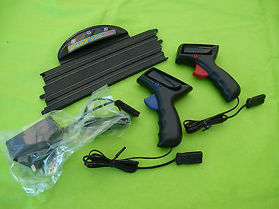 Micro Scalextric *NEW* 1/64 Power Base, Throttles, Transformer - From New Set #2