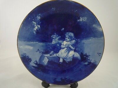 Royal Doulton Blue Childrens Plate