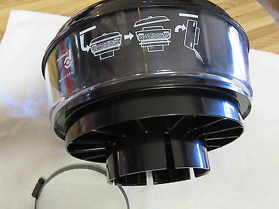 """New DONALDSON #H000823 Intake  Pre-cleaner  Assembly Fits Over 4-1/2"""" Pipe !!!!"""