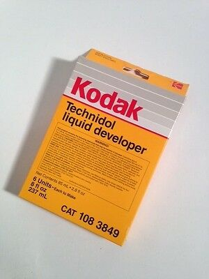 1 Box with 6 Packets Kodak Technidol Developer Technical Pan Film Tech Pan Film