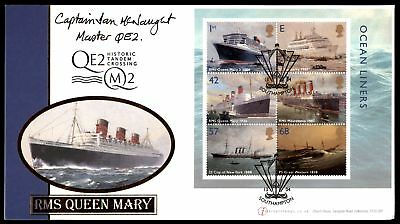 Mayfairstamps GB RMS QE2 Limited Edition 2004 Cover Only 200 Made Queen Mary 2 U