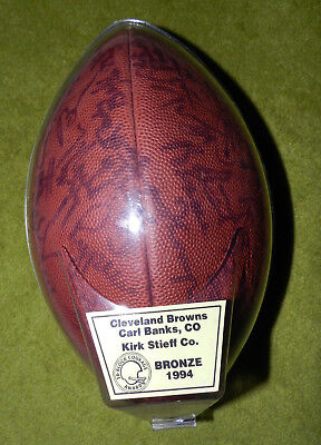 NFL Cleveland Browns 1994 Team Signed Official Wilson Football - Kirk Stieff Co.