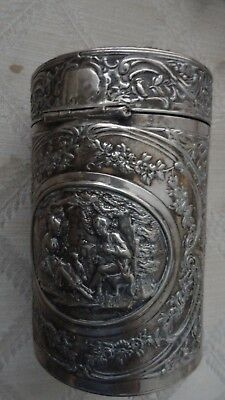 Sterling 950 Silver Jewelry Box, France