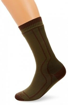 (X-Large, Green) - Sealskinz Trekking Socks. Best Price
