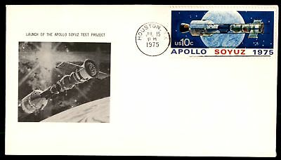 Mayfairstamps Apollo Soyuz 1975 FDC UA Unsealed unknown Cachet Very Fine Space