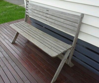 Outdoor Bench Seat Timber