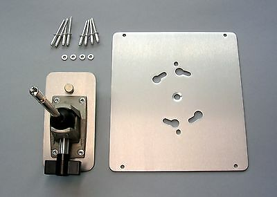 Kinoflo -type, Quasar Science -type Fixture Mounting Hardware.