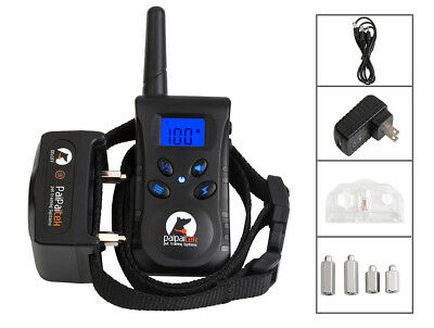 PaiPaitek Dog Collar Anti Bark Collar Pet Training System Remote Waterproof