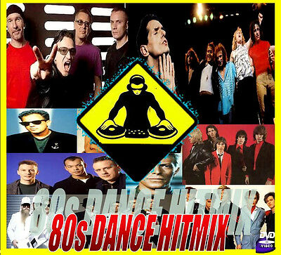 DJ VIDEO MIX - 80s FLASHBACK DANCE PARTY - 116 Minutes Of