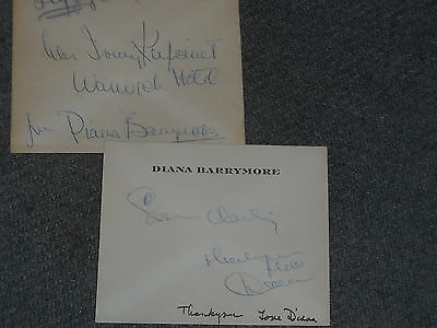 Diana Barrymore Handwritten Letter To Mrs. Irv Kupcinet With Envelope