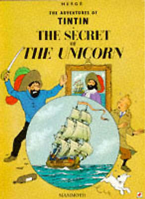 The Secret of the Unicorn (The Adventures of Tintin)-ExLibrary