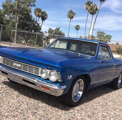 1966 Chevrolet El Camino  66 big block 4 spd VIN, fresh sbc auto, AC! muscle car chevy SS chevelle hot rod