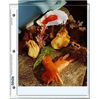 25 Print File 810-2P Photo Pages Storage/Archival 8x10